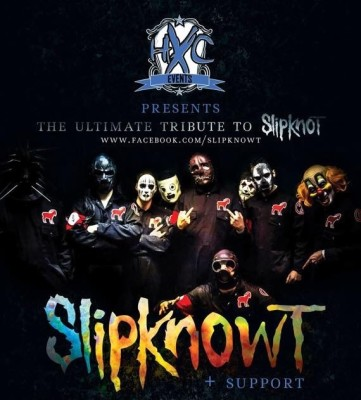 Slipknowt - Saturday 5th March - Ironworks, Inverness