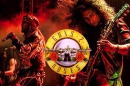 Guns 2 Roses - Saturday 9th April - Ironworks, Inverness