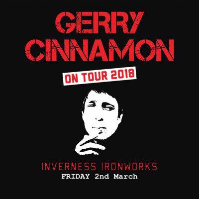 Gerry Cinnamon at Ironworks Music Venue, Inverness