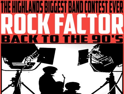 Rock Factor: Back To The 90s at Ironworks Music Venue, Inverness