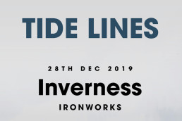 Tide Lines Gigs Poster A3 Print