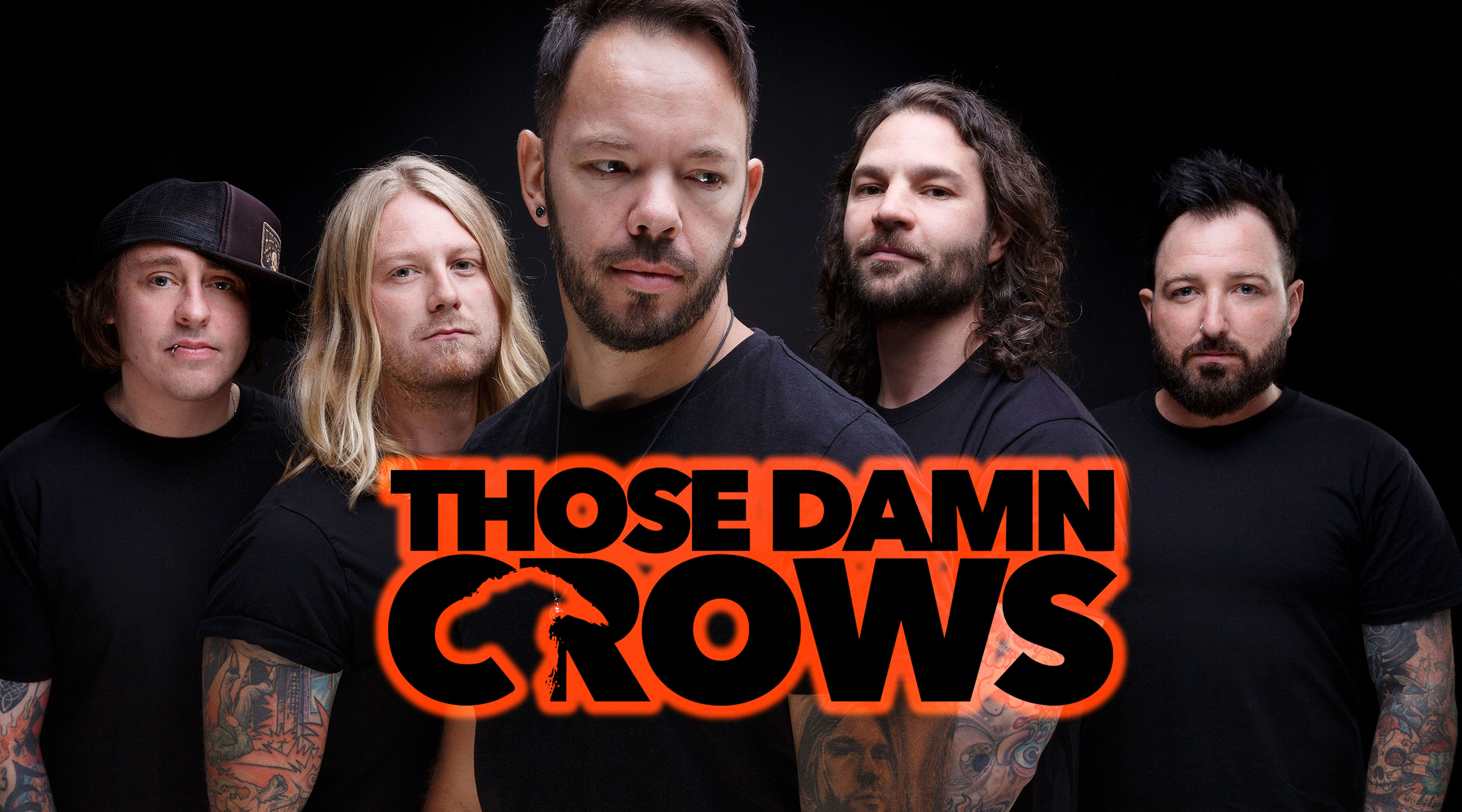 Those Damn Crows /'Murder And The Motive/' T shirt NEW