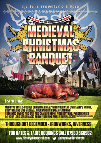 Image for MEDIEVAL CHRISTMAS BANQUET + DISCO